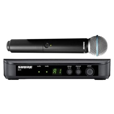 Microphone Wireless Microphone Wireless BLX24/Beta58 Shure 1 shure_blx24_beta58_800x800