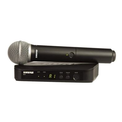 Microphone Wireless Microphone Wireless BLX24/PG58 Shure 1 shure_blx24_pg58_800x800