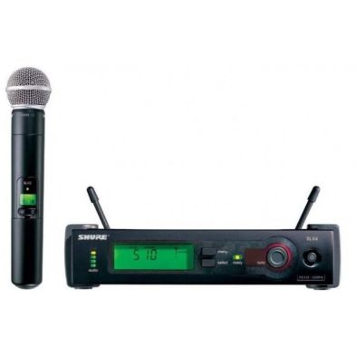 Microphone Wireless Microphone Wireless SLX24/SM58 Shure 1 shure_slx24_sm58_800x800