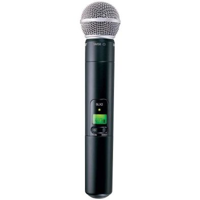 Microphone Wireless Microphone Wireless SLX24/SM58 Shure 2 shure_slx24_sm58_handheld_800x800